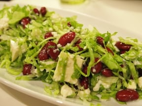 赤白緑の3色サラダ