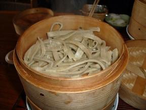 江戸時代のままの蒸し蕎麦『古代村』(日光)