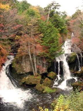 奥日光の三大名瀑の1つ『竜頭ノ滝』