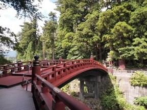 日本三大奇橋の1つ『二荒山神社神橋』(日光)