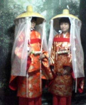 世界遺産・熊野古道でできる平安衣装体験