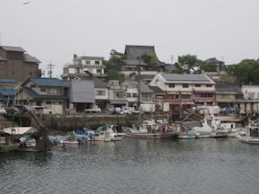 宗介が住む港町―広島・鞆の浦