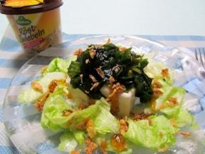 低カロリー! たっぷり食べられる豆腐とわかめのサラダ