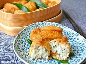 定番のいなり寿司も、シンプルレシピで手早く