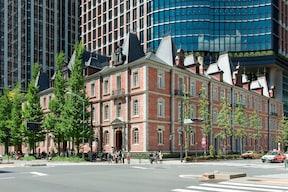 赤レンガが美しいクラシカルな建物