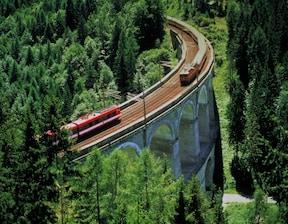 世界遺産の山岳鉄道『センメリング鉄道』