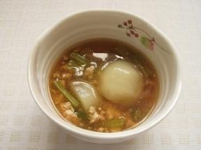 体ほっこり温まる「カブのあんかけ煮生姜風味」
