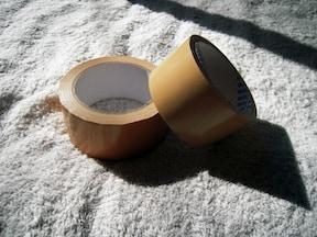 海外旅行の必需品 ガムテープ