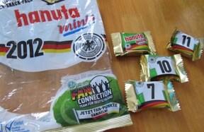 ドイツのお菓子『hanuta』