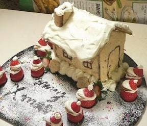 卵なしクッキーでお菓子のお家を作ろう!