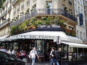 芸術家たちに愛された『カフェ・ド・フロール』