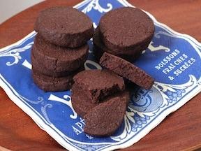 甘いものが苦手な人に本格派チョコサブレ