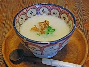 かぶの豆乳ヨーグルトスープ