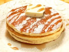 驚くほどふわふわもちもち!お粥パンケーキ