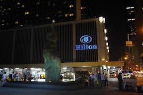 ニューヨークの中心!世界最大規模のヒルトンホテル