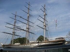 『カティーサーク』は唯一現存する茶葉運搬船