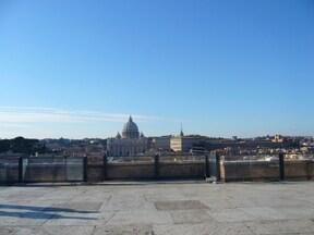 天使に守られた要塞『サンタンジェロ城』