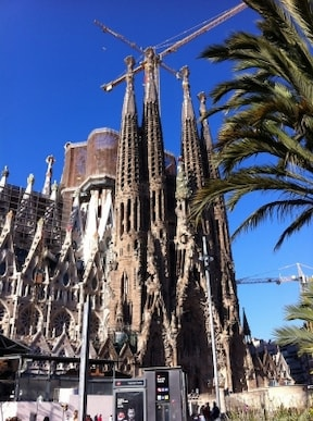 バルセロナの観光地『サグラダ・ファミリア』