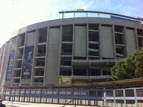 カンプノウスタジアムのミュージアム