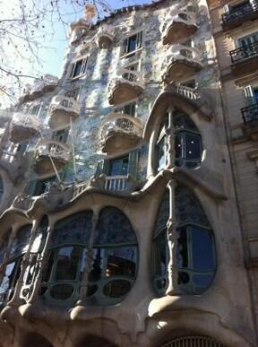 バルセロナの『カサ・バトリョ』