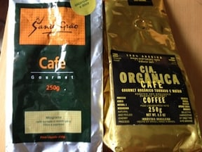 ブラジル旅行のお土産 コーヒー