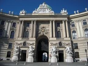 ウィーン『ホーフブルク宮殿』