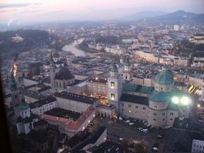 ザルツブルグ『ホーエンザルツブルク城』