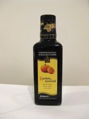 かぼちゃの種から作られた『パンプキンシードオイル』