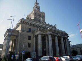 ポーランドにある高層ビル『文化科学宮殿』