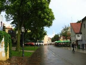 クロアチアの首都 ザグレブ