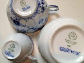 王室御用達陶磁器『ロイヤル・コペンハーゲン』