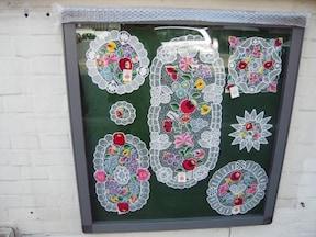 ハンガリーの刺繍製品