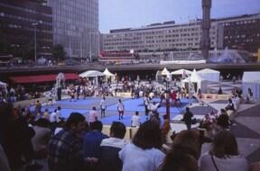 スウェーデン・ストックホルム セルゲル広場