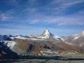 海抜3100メートルからのマッターホルン