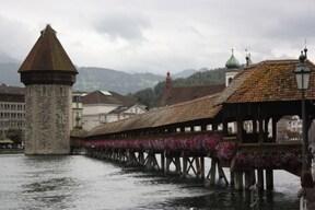 中世の町並みが残る『ルツェルン』