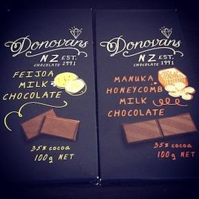 ニュージーランドの板チョコレート