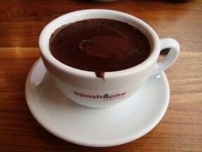 『アポストロフィ』の、食べる濃厚ホットチョコレート