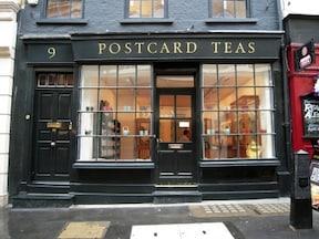 ロンドン紅茶界の新星『ポストカード・ティーズ』