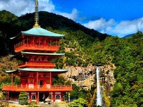 熊野三山の一つ 世界遺産『熊野那智大社』