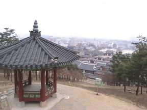 城郭が美しい ソウル郊外『水原(スウォン)』