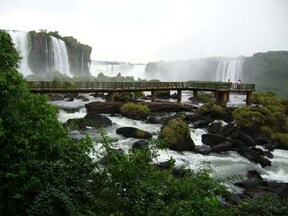 見る者を圧倒する絶景『イグアスの滝観光ツアー』