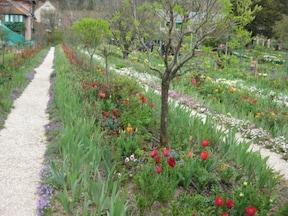 モネの絵画そのままのお庭へ『ジヴェルニーの家』