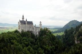 ノイシュバンシュタイン城とリンダーホーフ城のツアー