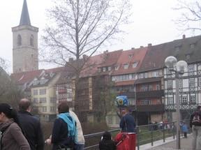 中世の趣きが残る静かな街『エアフルト』