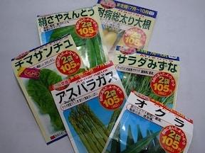 ダイソーの種は2袋100円