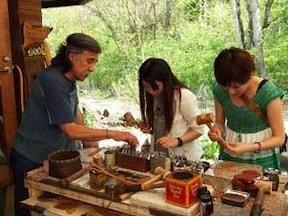 オリジナルデザインの革製品作り「革の子工房」