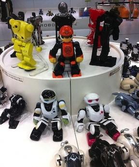 ロボットとのコミュニケーション体験