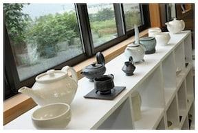 ろくろを使った本格的な陶芸体験