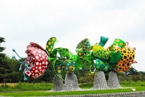 広大な自然の中に芸術作品を展示!『霧島アートの森』