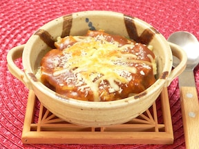 ポテサラドリアのチーズのせ